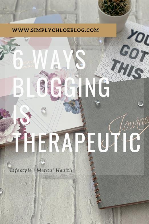 Blogging as therapeutic