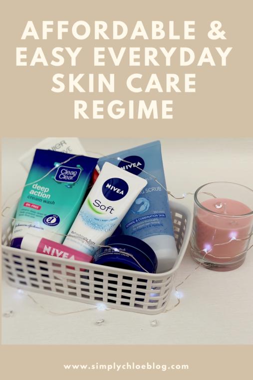 Everyday skin care regime blog