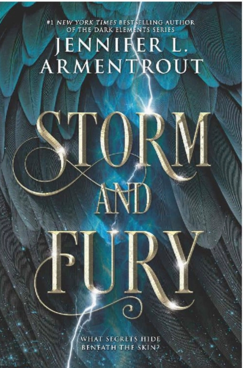 Jennifer L Armentrout's Storm and Fury book cover